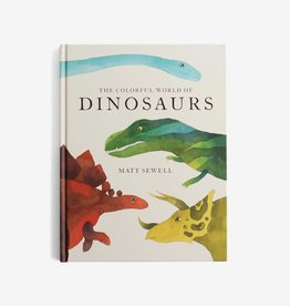 Chronicle Books The Colorful World of Dinosaurs