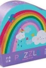 Crocodile Creek 12pc Mini Puzzle: Rainbow Heaven