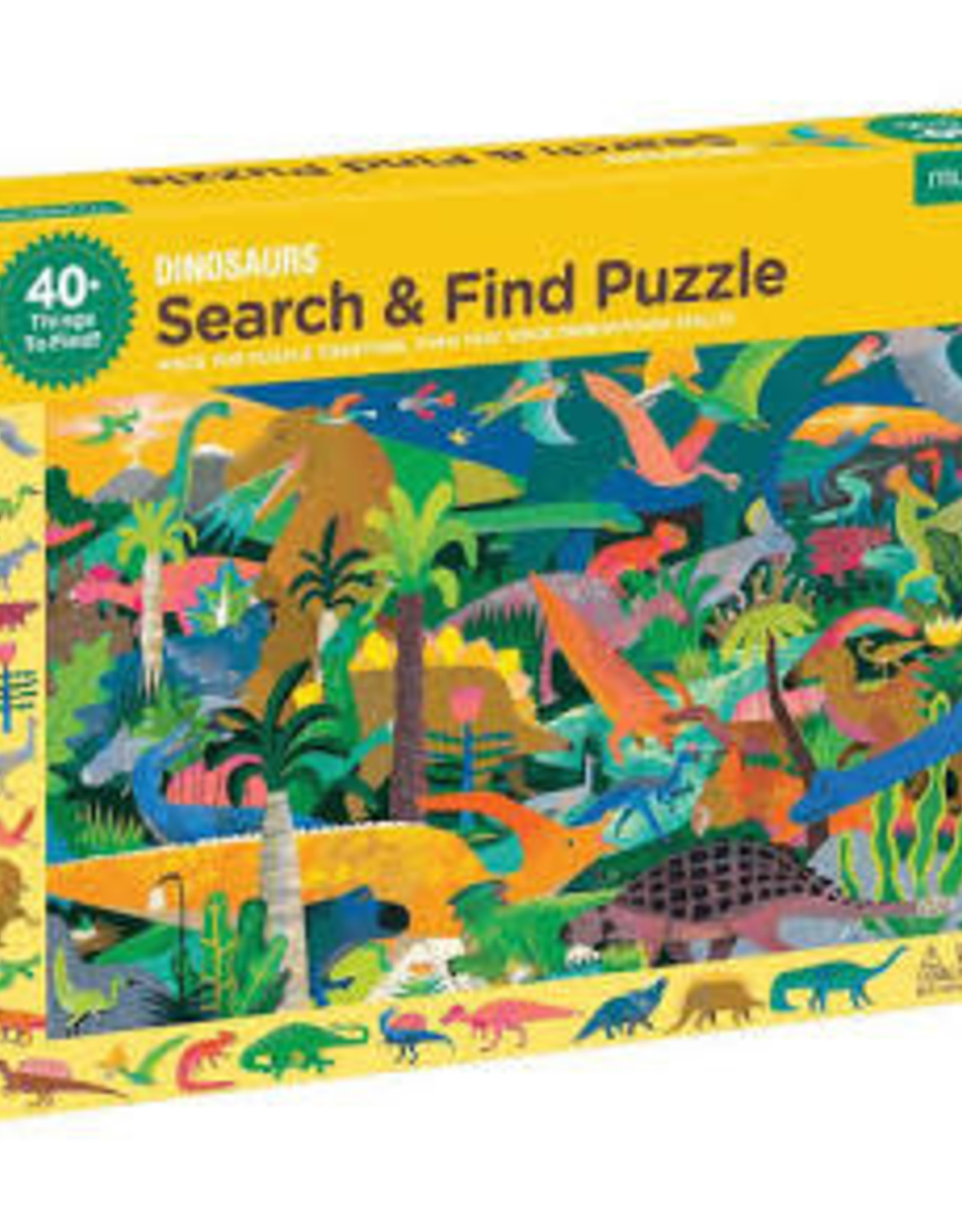 Chronicle Books 64 pc Puzzle: Dinosaurs Search and Find