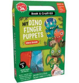 Klutz My Dino Finger Puppets