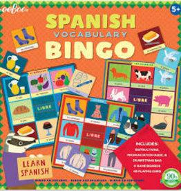 eeBoo Spanish Bingo