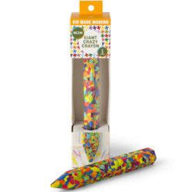 Kid Made Modern Giant Crazy Crayon: Neon
