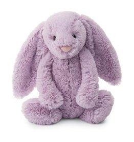 "Jellycat Bashful Lilac Bunny: Medium 12"""