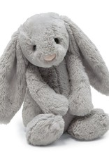 "Jellycat Bashful Grey Bunny: Huge 21"""