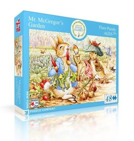 New York Puzzle Company 48 pc Puzzle: Mr. McGregor's Garden