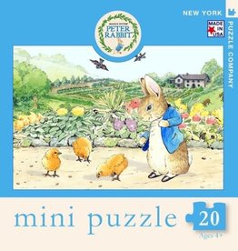 New York Puzzle Company 20 pc Puzzle: Spring Chicks Mini