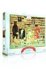 New York Puzzle Company 1000 pc Puzzle: The Library