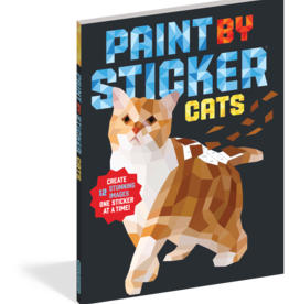 Workman Publishing Paint by Sticker: Cats