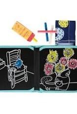 Jaq Jaq Bird Color It Chalk Book: Van Gogh