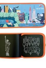 Jaq Jaq Bird Cities Chalk Book: New York