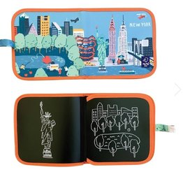 Jaq Jaq Bird Cities Chalk Book: New York