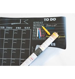 Jaq Jaq Bird Chalk Board Calendar Decal