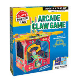 Klutz Maker Lab Arcade Claw Game