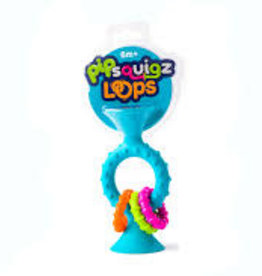 Fat Brain Toy Co Pip Squigz Loops: Teal