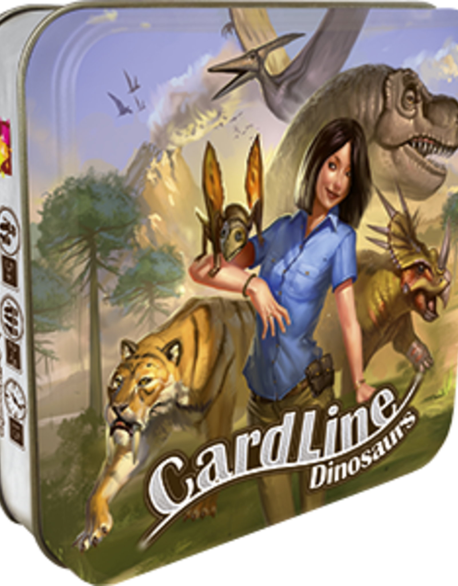 Asmodee Cardline: Dinosaur