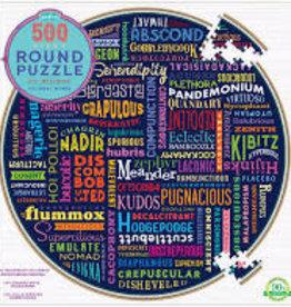 eeBoo 500pc-Puzzle: 100 Great Words