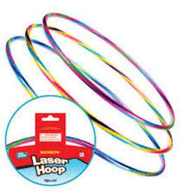 Toysmith Rainbow Laser Hoop