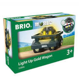 Ravensburger Light Up Gold Wagon