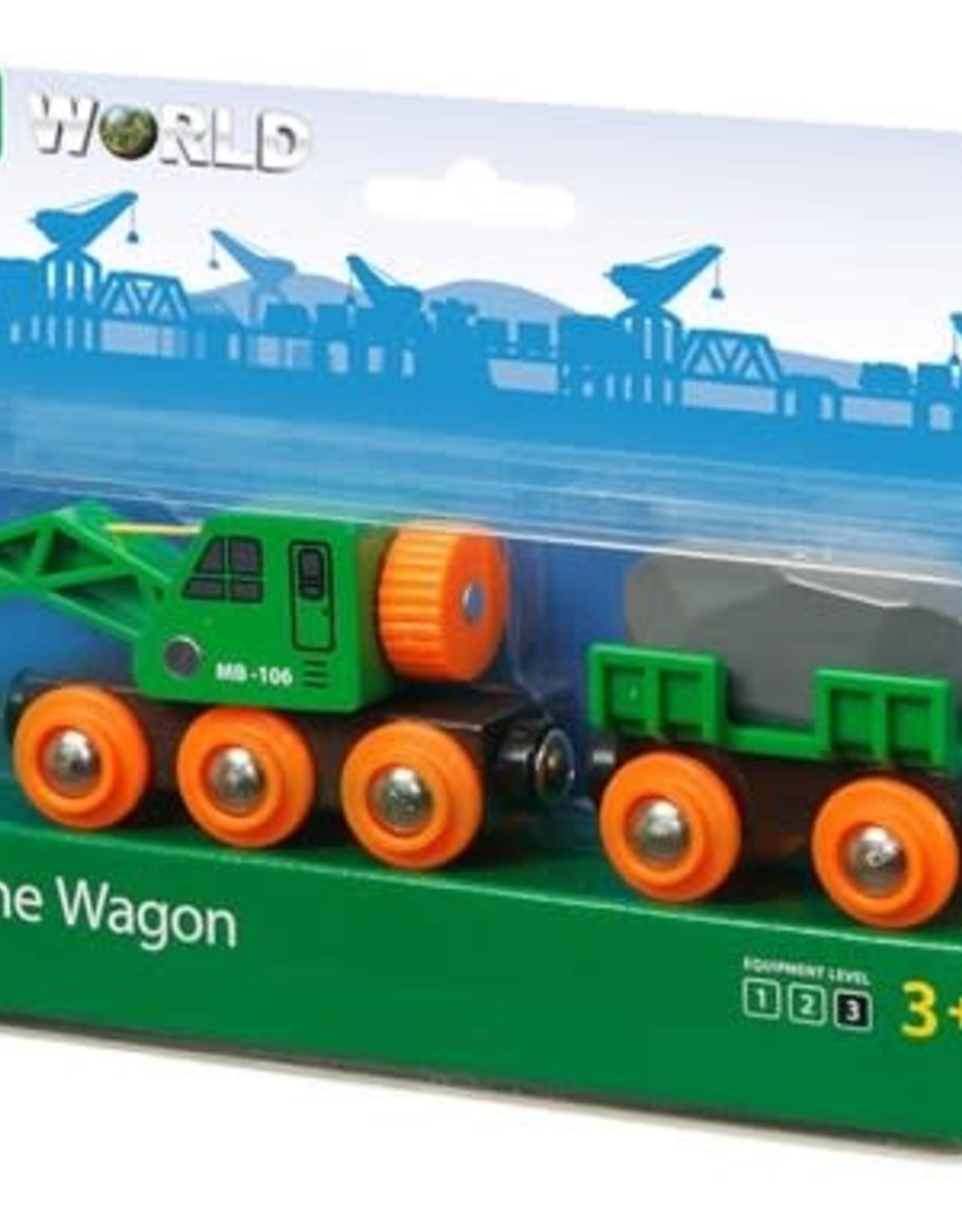 Ravensburger Clever Crane Wagon