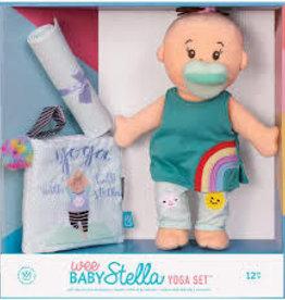 The Manhattan Toy Company Wee Baby Stella Yoga Set