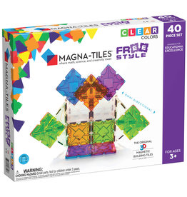 Valtech Magna-Tiles: Freestyle 40pc