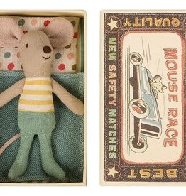 Maileg Mouse, Little Brother in a box