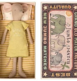 Maileg Mouse, Medium mouse in box - Girl