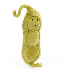 "Jellycat Vivacious Vegetable: Pea 5"""