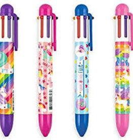 Ooly 6 Click Ink Pen Unique Unicorn