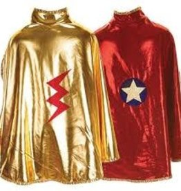 Creative Education Reversible Wonder Cape, Gold and Red
