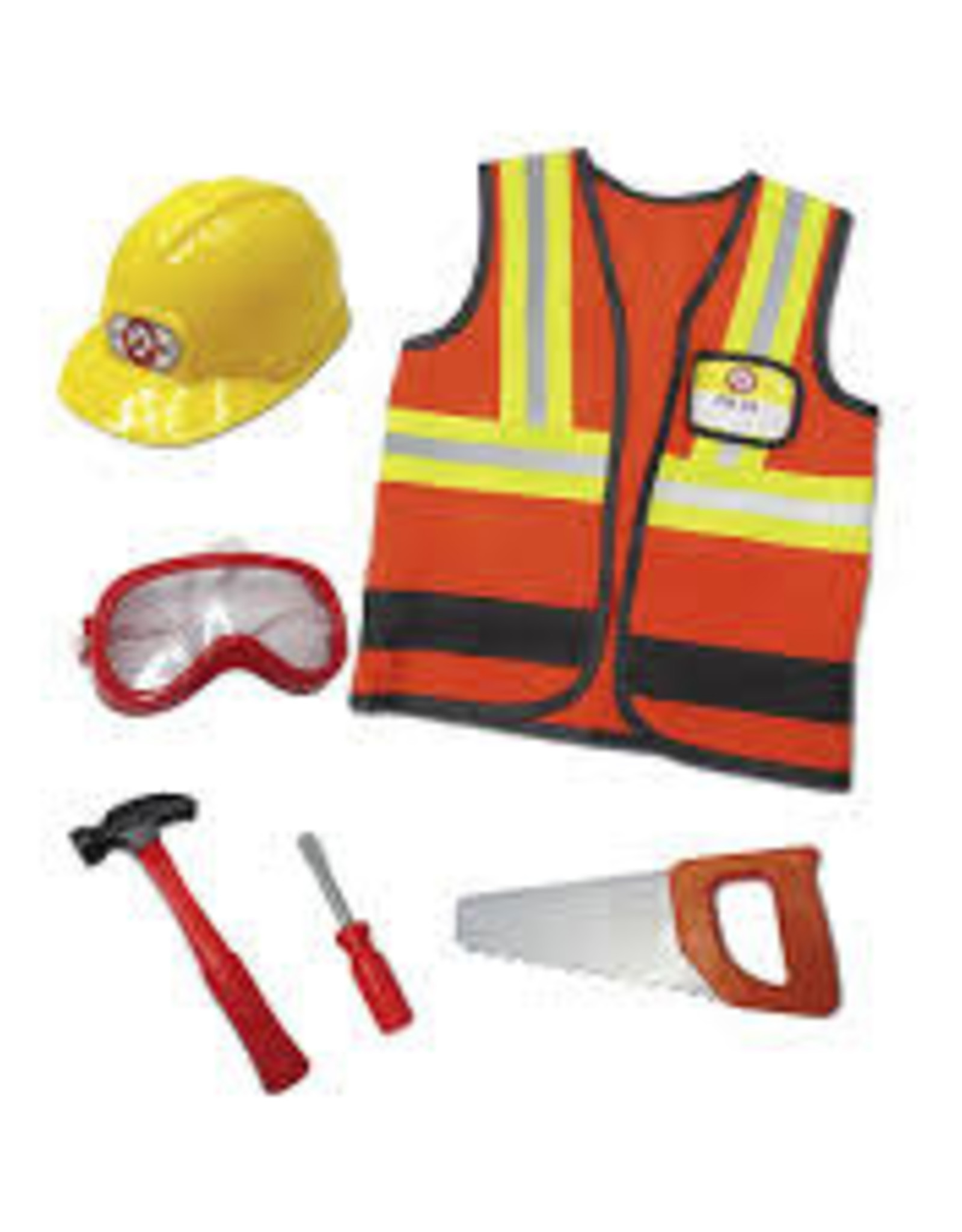 Creative Education Construction Worker with Accessories: Size 5-6