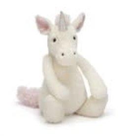 "Jellycat Bashful Unicorn: Medium 12"""