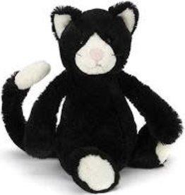 Jellycat Bashful Black & White Cat: Medium 12