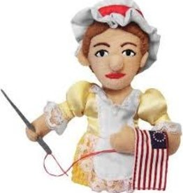 Unemployed Philosopher's Guild Magnetic Finger Puppet: Betsy Ross