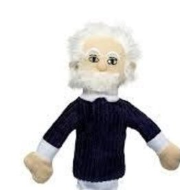 Unemployed Philosopher's Guild Magnetic Finger Puppet: Albert Einstein