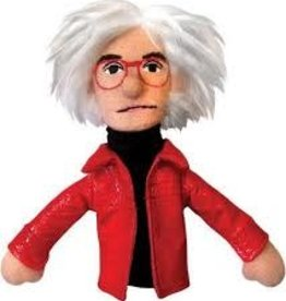 Unemployed Philosopher's Guild Magnetic Finger Puppet: Andy Warhol