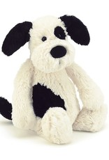 Jellycat Bashful Black & Cream Puppy: Huge 21