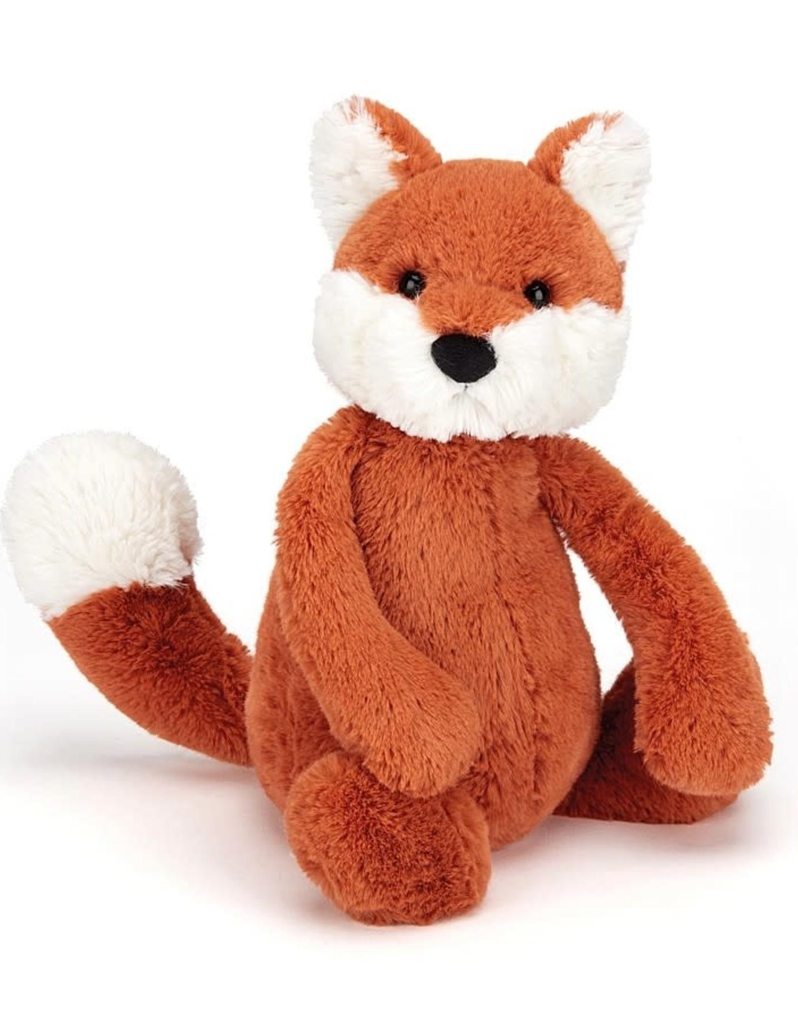 """Jellycat Bashful Fox Cub: Small 7"""""""