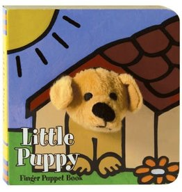 Chronicle Books LITTLE Puppy: FINGER PUPPET BOOK BB