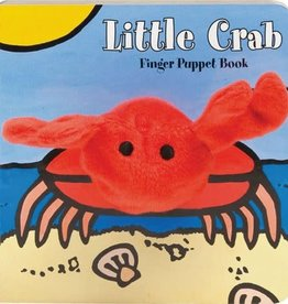 Chronicle Books LITTLE Crab: FINGER PUPPET BOOK BB