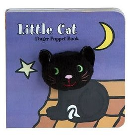 Chronicle Books LITTLE Cat: FINGER PUPPET BOOK BB