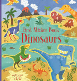 EDC Publishing First Sticker Book: Dinosaurs