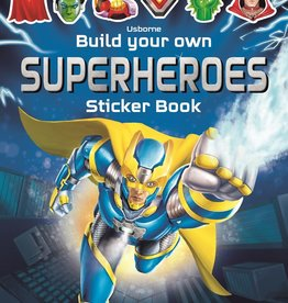 EDC Publishing Sticker Book: Build Your Own Superheroes
