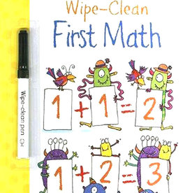 EDC Publishing Wipe-Clean First Math