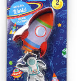 Handstand Kitchen Out of this World Cookie Cutter: Set of 2