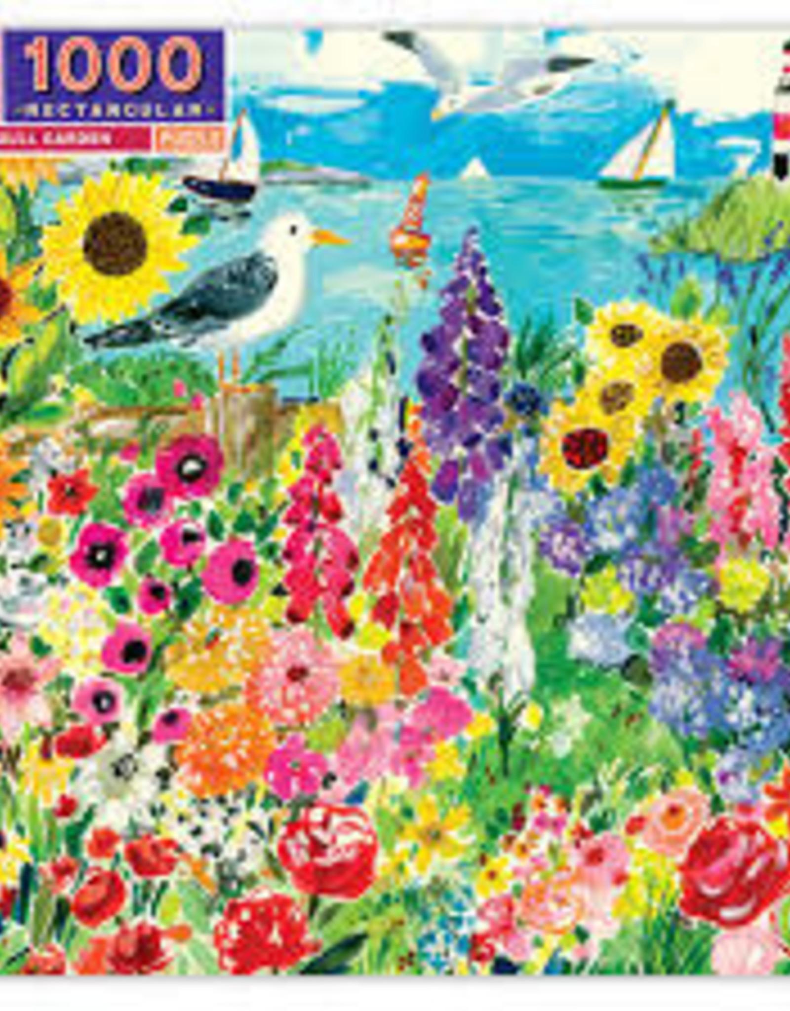 eeBoo 1000pc-Puzzle: Seagull Garden