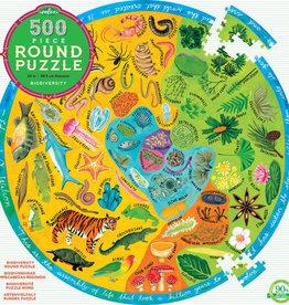 eeBoo 500pc-Puzzle: Biodiversity