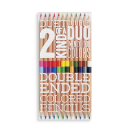 Ooly 2 of a Kind Colored Pencils