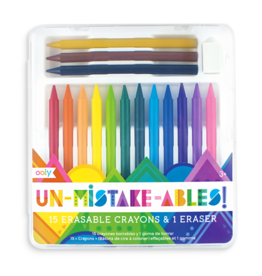 Ooly Unmistakebles Eraseable Crayons