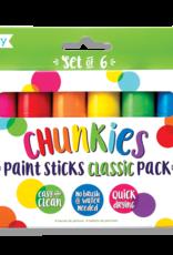 Ooly Chunkies Paint Sticks: Set of 6